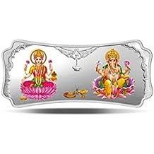 MMTC-PAMP Stylized Lakshmi Ganesha (999.9) 50 gm Silver Bar