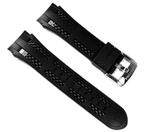 Festina Uhr der f16526-band–Gummi Armband für Männer, schwarz (24)