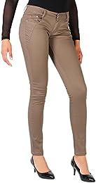 Amazon.co.uk: Beige - Jeans / Women: Clothing