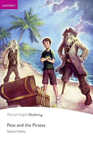 Penguin Readers ES: Pete and the Pirates Book & CD Pack (Pearson English Graded Readers) - 9781408232156