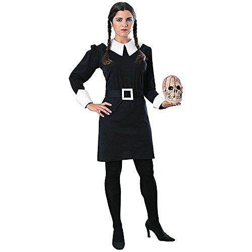 y™ -Kostüm der Addams Family™ für Damen Halloween - S (Addams Kostüm)