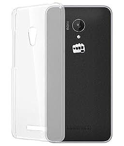 Generic Micromax Q336 Transparent Back Cover