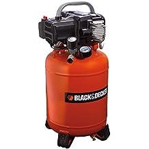 Black and Decker 1802 - Compresor con tanque de 24 L, sin aceite
