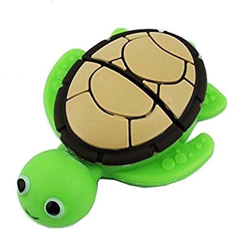 Chiavetta di memoria usb da 16gb, modello animale cartone animato, gatto nero, aneew turtle 16 gb