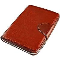 Bolso De La Cremallera Cuaderno Retro De La Hoja Suelta, Cuaderno De Negocios De Múltiples Funciones, Personalizado Corporativo