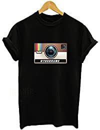 INSTAGRAM Personalised T-shirt with your instagram name