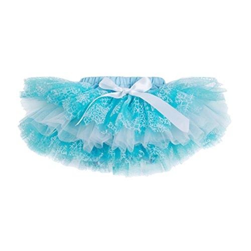 (Zhhlaixing Cute Baby Mädchen Dance Tutus Pettiskirts Multi-layers Ballet Dance Skirt Chiffon Dress Size S-XL)