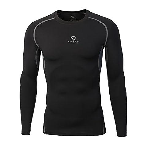 FlightBird Men's Short Sleeve Compression Shirt Camisole Quick Dry Sport Top T-Shirts