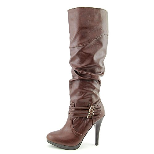 Style & Co Lindie Wide Calf Femmes Synthétique Botte Chocolat