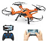 Amitasha Drone with 0.3MP HD Camera Wi-Fi 6-Axis Gyro RC Quadcopter (Multi-Color)