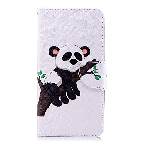 Silber Zebra Cover (Chreey Schutzhülle für Xiaomi Redmi Note 4/Note 4X, Schutzhülle aus PU-Leder, magnetisch, Flip Case, bunt)