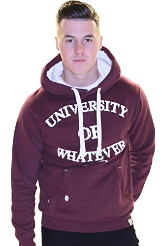 university-of-whatever-sweatshirt-herren-unestablished-burgund-xl-w89