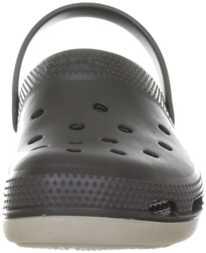 Crocs Duet Plus, Sabot Unisex-Adulto Marrone (Espresso/Mushroom)