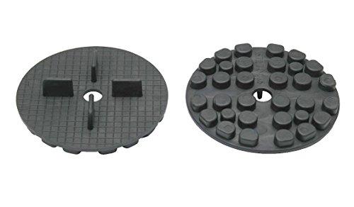 50 Stk Stelzlager Plattenlager ESPLG aus Gummi 5mm hoch 4mm Fuge stapelbar verrottungsfrei
