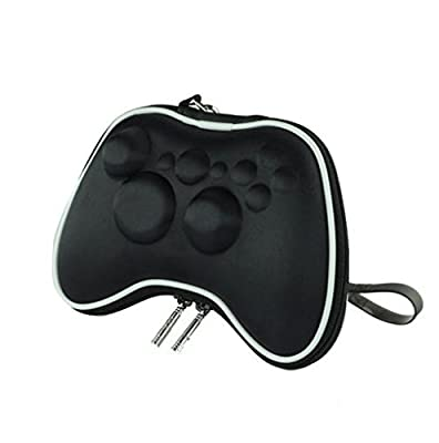 Feicuan Accessories Handle Bag Wireless Handle Protection Package Shockproof Bag for XBOX360 Color Black