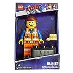 Lego-Movie-2-9003967-Emmet-Minifigure-Kids-Light-Up-Alarm-Clock