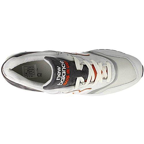 New Balance M977 Hommes Synthétique Baskets Gris - Gris clair