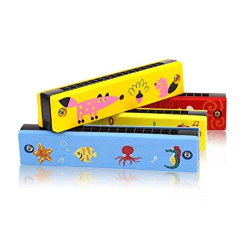 Omiky® Education Mundharmonika 16 Löcher Hooter Bugle Pädagogisches Spielzeug