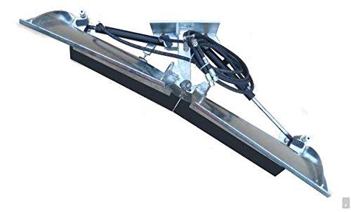 Universal Vario Schneeschild V 200 cm hydraulisch feuerverzinkt Schneeschieber Winterdienst