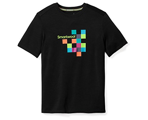 Smartwool Herren Men's Merino 150 Logo Tee T-Shirt, Black, XL