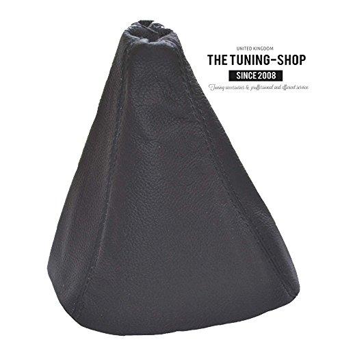 Schaltsack Schaltmanschette schwarz echtes Leder