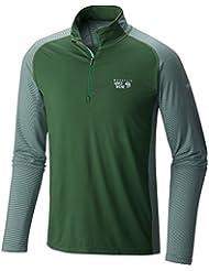Mountain Hardwear butterman 1/2cremallera, Camiseta Stretch para Hombre, Hombre, Butterman 1/2 Zip, Selva, XL