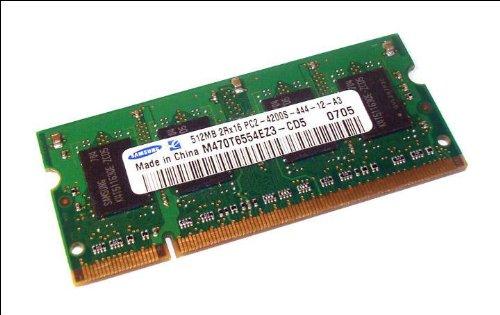 Samsung M470T6554EZ3-CD5 DDR 2 RAM SO-DIMM 512 MB PC2-4200 533 MHz (303) - Samsung Pc2 4200