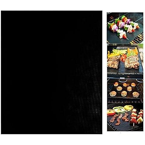emwel Set di 2 Tappetini da BBQ