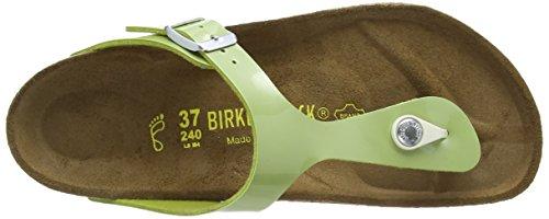 Birkenstock Gizeh, Damen Sandalen Grün (Pearly Apple)