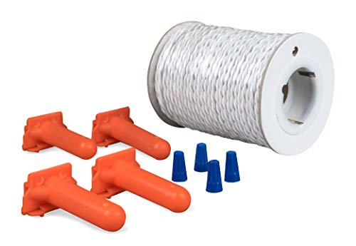 PetSafe Twisted Wire Kit for In-Ground Fence, 100 ft of Pre-Twisted Wire for Faster Installation -