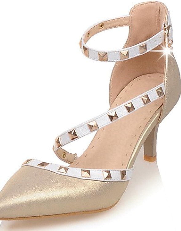 Textiles / Home ZQ los zapatos de tac¨®n de aguja tal¨®n de las mujeres/en punta/tac¨®n abiertos del dedo del...