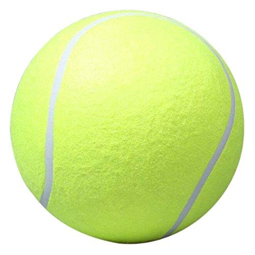 Giant Tennis Ball, amazingdeal36524cm aufblasbar Tennisball Outdoor Spielzeug für Kinder Erwachsene Pet Fun