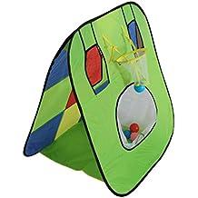 magideal tienda de juguete de disparos juego de exterior carpa plegable para nios verde