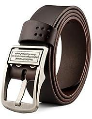AQAQ Hombre Cuero Cinturón De Cintura Vintage / Fiesta / Trabajo / Casual Todas Las Temporadas