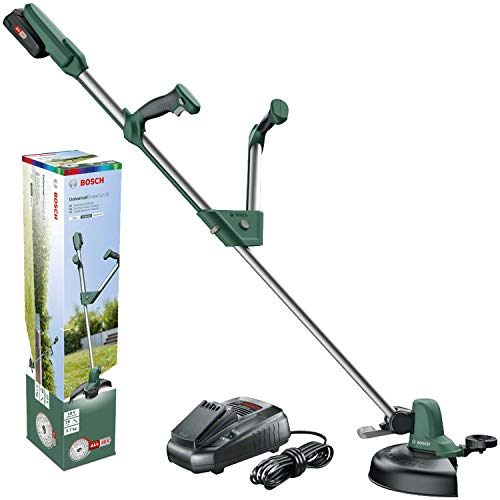 BOSCH 06008C1D00 Débroussailleuse Universelle Home and Garden 18-260 (2, 0 Ah Batterie 18 V...