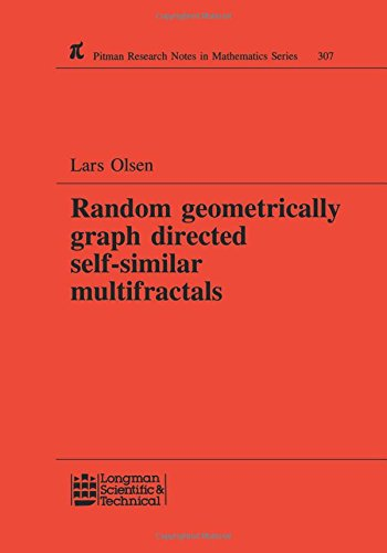 Random Geometrically Graph Directed Self-Similar Multifractals (Chapman & Hall/CRC Research Notes in Mathematics Series)