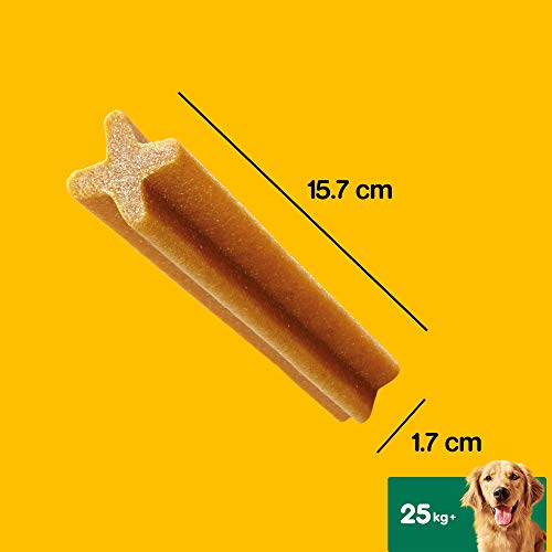 Pedigree Dentastix - Daily Dental Care Chews, Large Dog Treats from 25kg+, 1 box (1 x 4.32 kg / Total of 112 Sticks)
