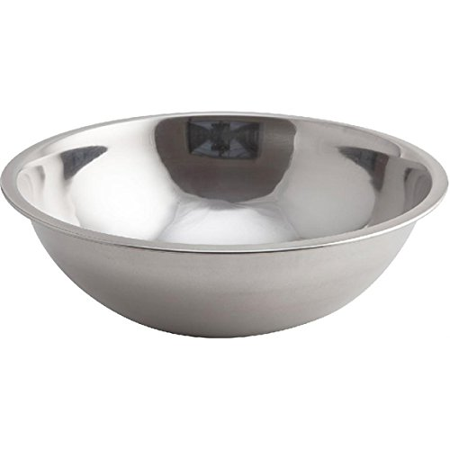 4185rZjFQvL. SS500  - Genware NEV-2075 Mixing Bowl, Stainless Steel, 6L