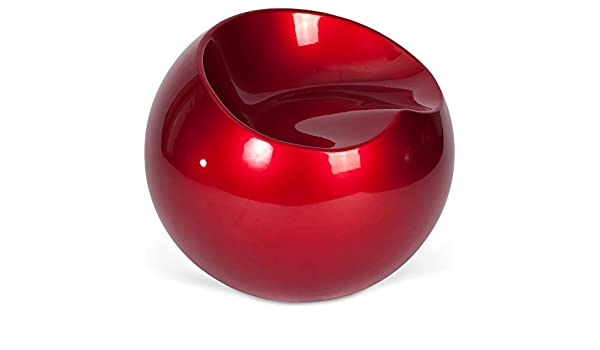 Privatefloor Chair Finn Fauteuil Rouge Stone Ball Style 51FKcTlJu3