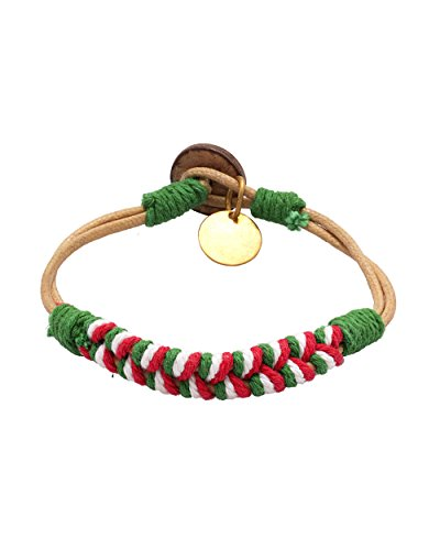 Voylla Band Bracelet Made Of Colored Thread For Men  available at amazon for Rs.259