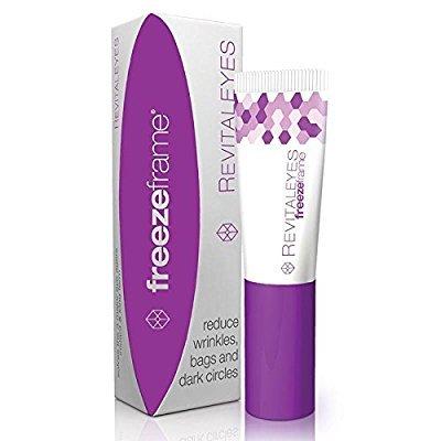 Crème yeux Freezeframe - crème REVITAL YES de 15 ml avec tri-peptide et vitamine C pour la réparation clinique de la zone oculaire