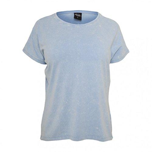 Urban Classics Herren Kurzarmshirt Bekleidung Camo Pocket Tee Sky Blue