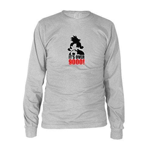 (DBZ: Transformation - Herren Langarm T-Shirt, Größe: L, Farbe: weiß)