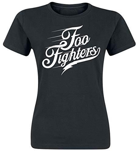 Foo fighters logo t-shirt nero m