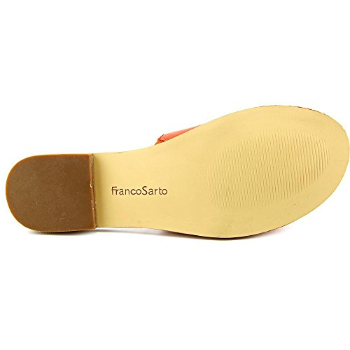 Franco Sarto Merian Femmes Cuir Sandales Orange
