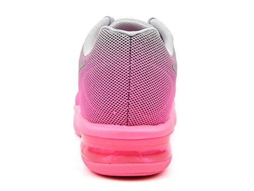 Nike Air Max Sequent (Gs), Scarpe da Corsa Bambina Multicolore
