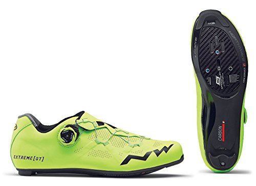 NORTHWAVE Chaussures velo route homme EXTREME GT jaune fluorescent