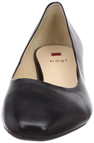 Högl - Scarpe col tacco 9-123000, Donna Nero (Schwarz (0100))