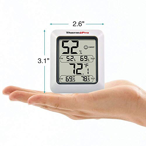 ThermoPro TP50 digitales Thermo-Hygrometer - 6