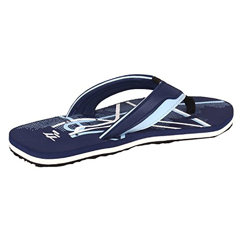 77 Seventy Seven Men Flip Flops Trendy Premium Design Confortable, Light Weight, Boy Walking Slippers (Blue)  available at amazon for Rs.269
